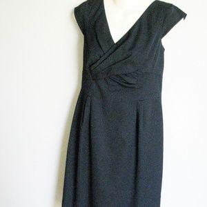 Ann Klein little black dress sz 6
